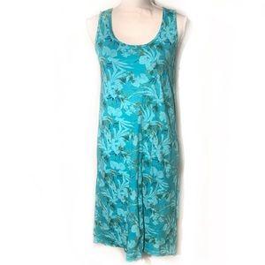 Fresh Produce floral tank dress open back